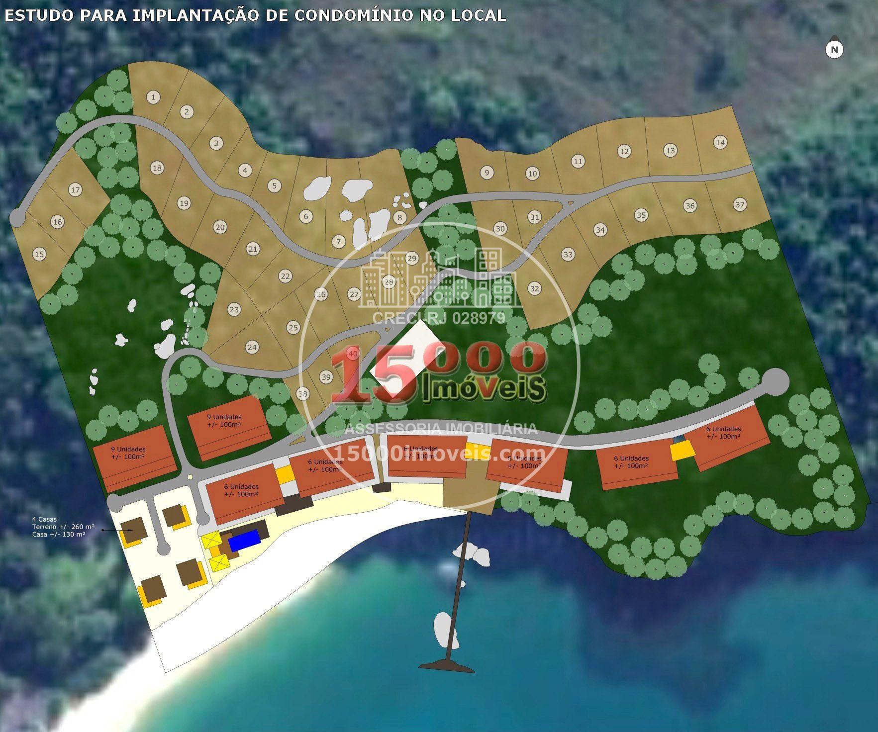 Área de 250.000 m² na Praia dos Maciéis - Angra dos Reis - RJ (15000-084) - 15000-084 - 10