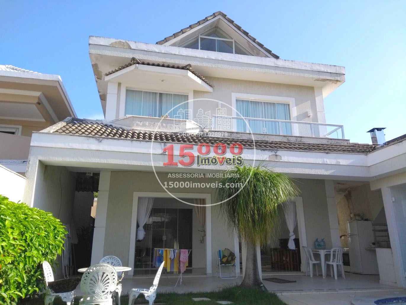Casa duplex 5 quartos no Cond. Parc Des Palmiers - Recreio dos Bandeirantes (15000-070) - 15000-070 - 1