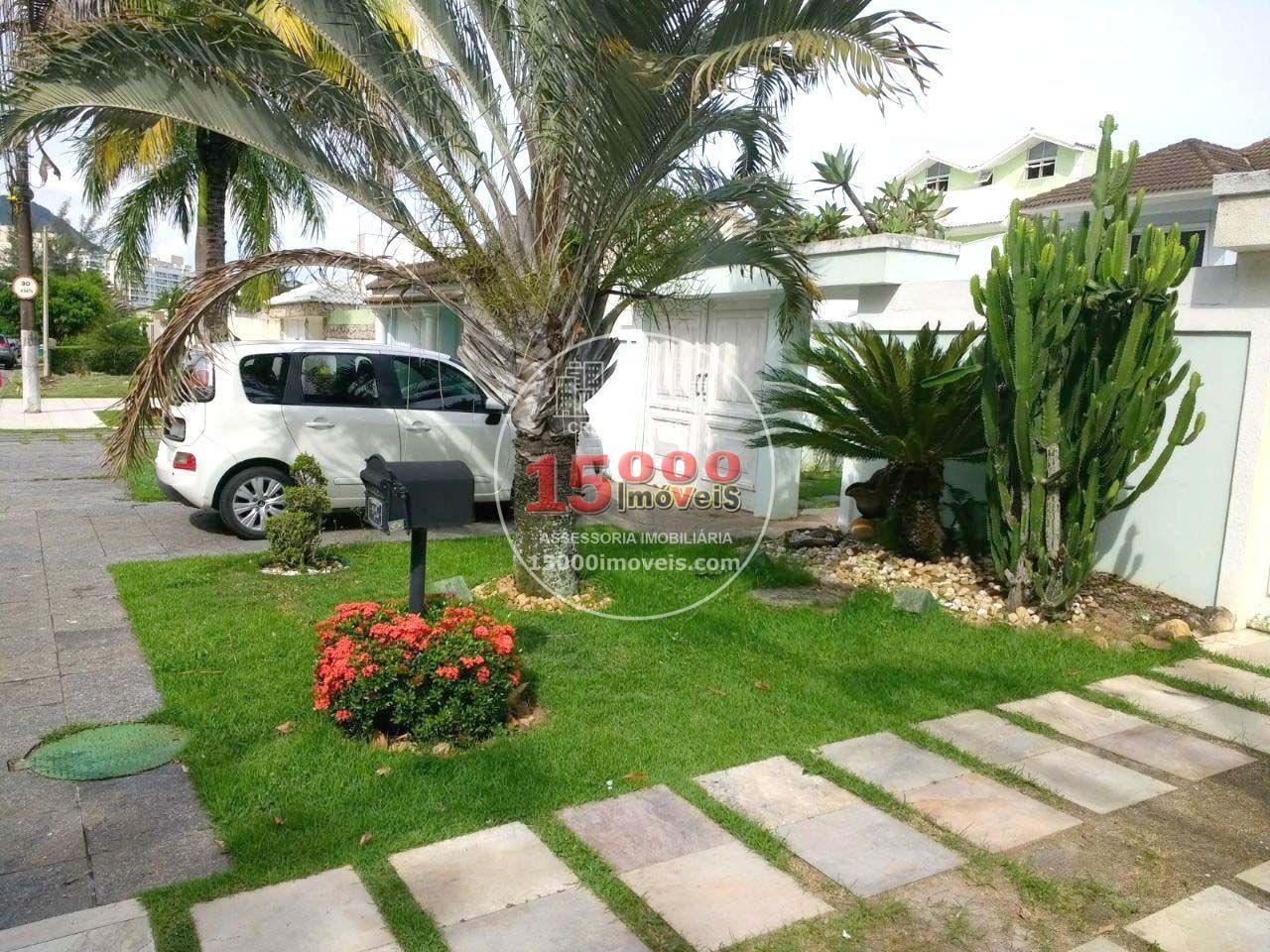 Fachada - Casa duplex brezinski no Cond. Vivendas do Sol - Recreio dos Bandeirantes (15000-103) - 15000-103 - 1