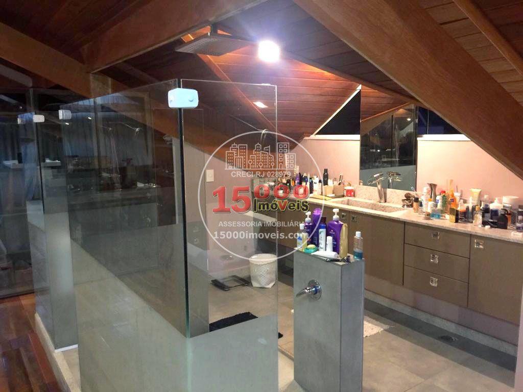 Casa duplex 5 suítes no Cond. Vivendas do Sol - Recreio dos Bandeirantes (15000-110) - 15000-110 - 18