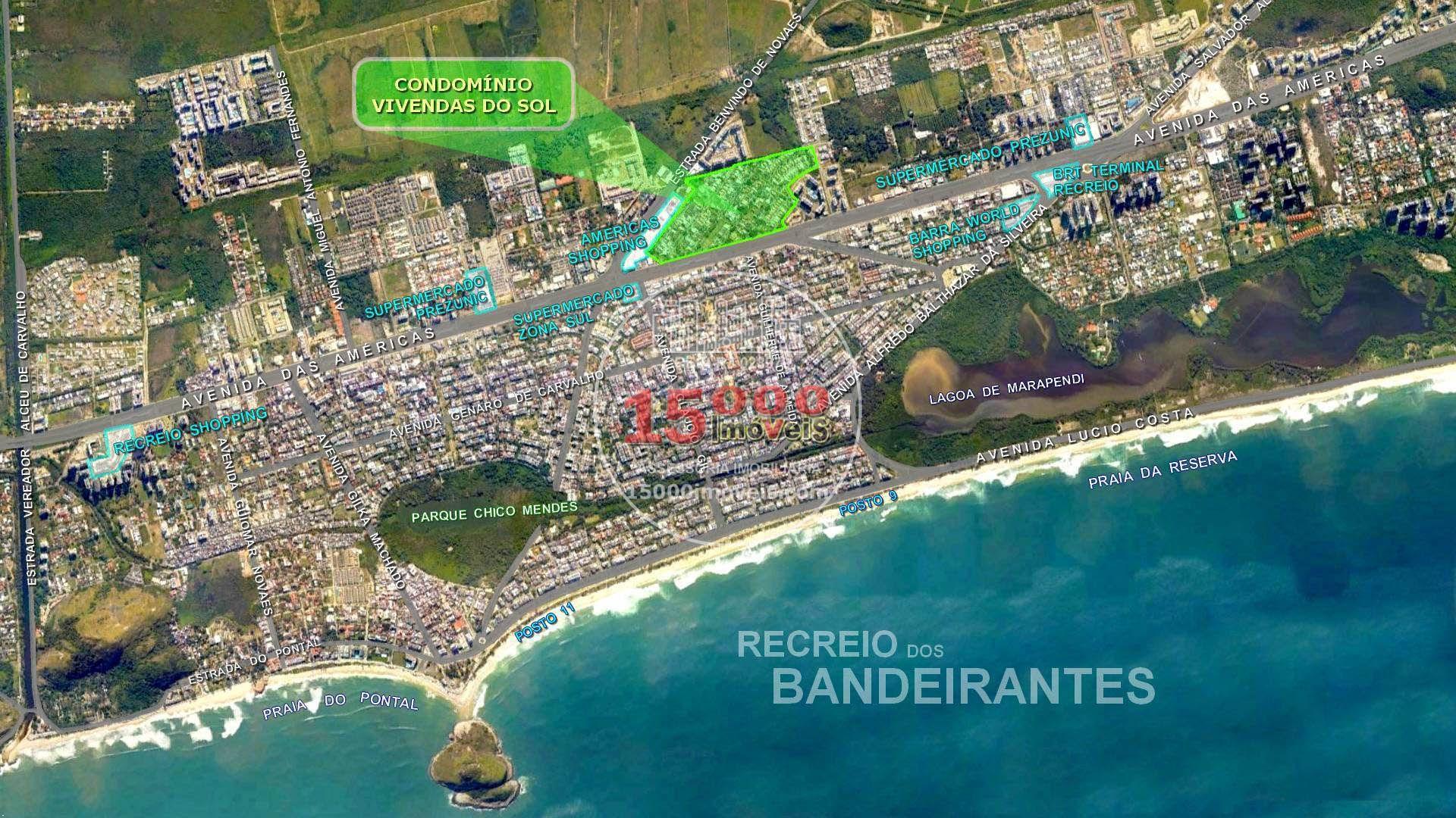 Casa duplex 5 suítes no Cond. Vivendas do Sol - Recreio dos Bandeirantes (15000-110) - 15000-110 - 20