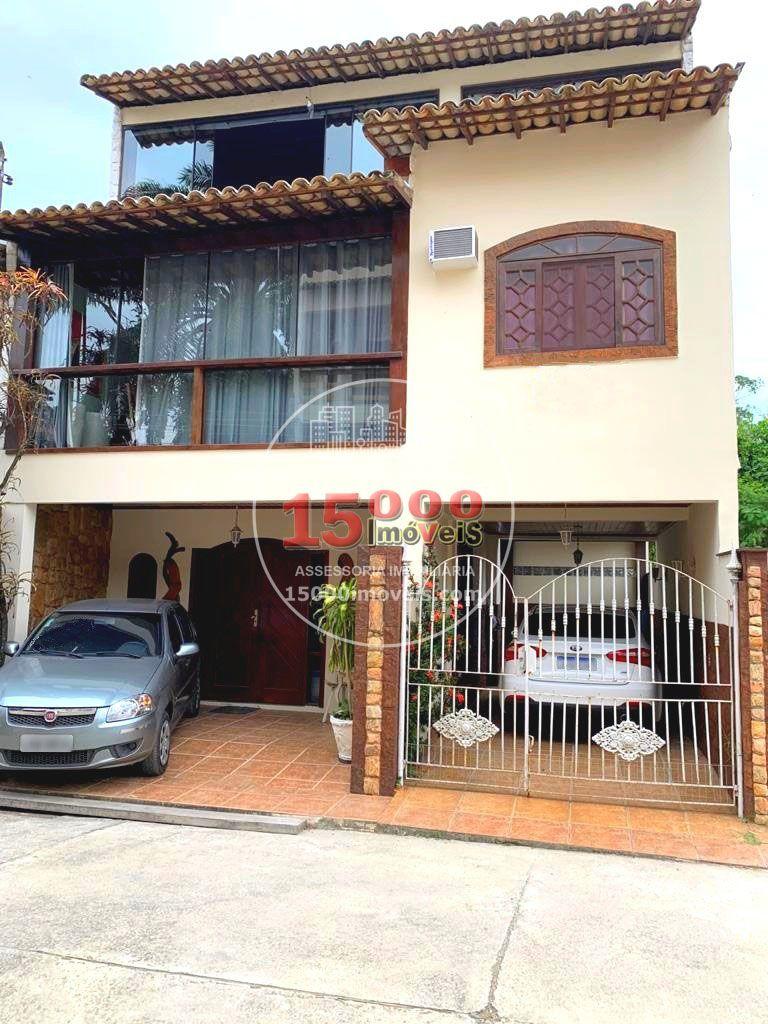 Fachada - Casa tipo sobrado 2 suítes no Cond. Vila Real - Recreio dos Bandeirantes (15000-112) - 15000-112 - 1