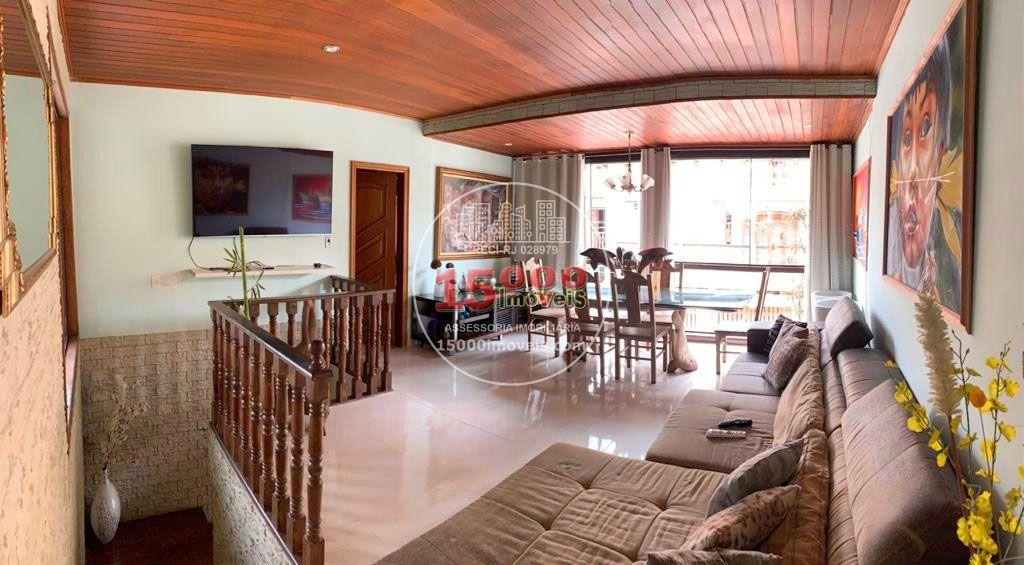 Sala (1) - Casa tipo sobrado 2 suítes no Cond. Vila Real - Recreio dos Bandeirantes (15000-112) - 15000-112 - 5