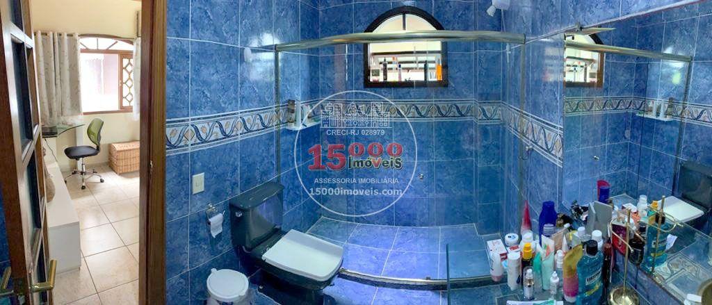 Banheiro da suíte 1 - Casa tipo sobrado 2 suítes no Cond. Vila Real - Recreio dos Bandeirantes (15000-112) - 15000-112 - 10
