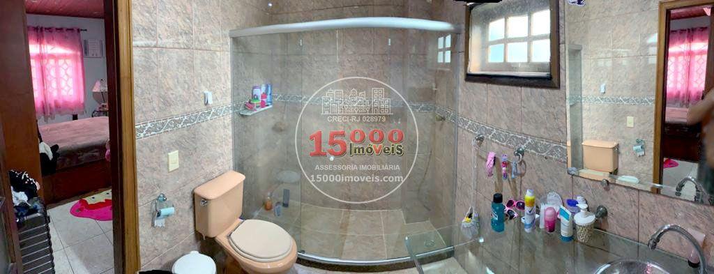 Banheiro da suíte 2 - Casa tipo sobrado 2 suítes no Cond. Vila Real - Recreio dos Bandeirantes (15000-112) - 15000-112 - 13