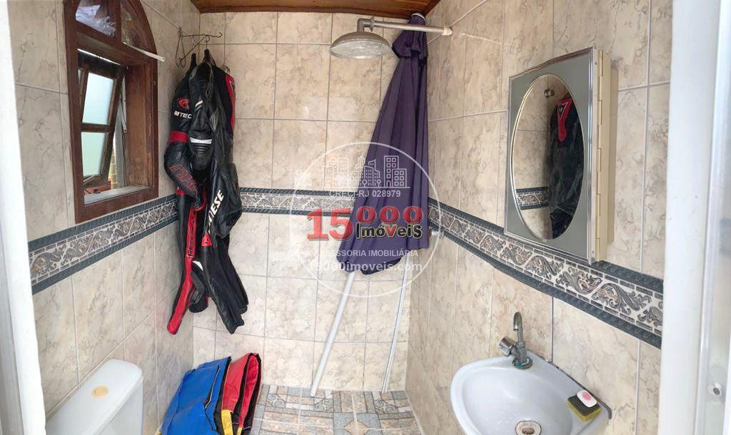 Banheiro social - Casa tipo sobrado 2 suítes no Cond. Vila Real - Recreio dos Bandeirantes (15000-112) - 15000-112 - 18