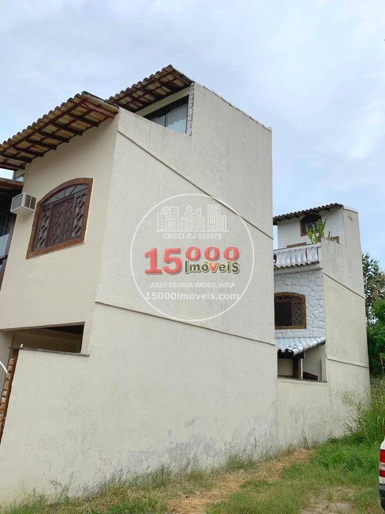 Vista lateral - Casa tipo sobrado 2 suítes no Cond. Vila Real - Recreio dos Bandeirantes (15000-112) - 15000-112 - 19