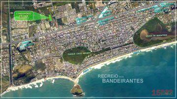 Foto aérea do Cond. Village Biarritz - Perspectiva - Village Biarritz - CEE-011 - 9